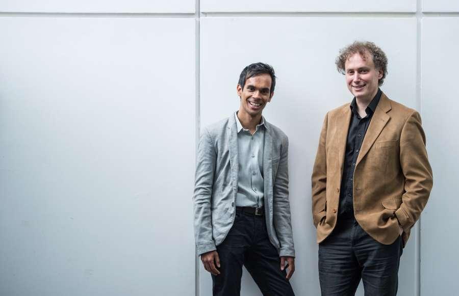 Suba Das and David  Murphy @C Sim Canetty Clarke