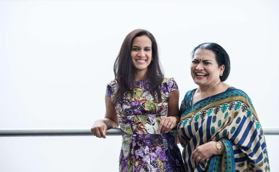 Sukanya Shankar and Anoushka Shankar @C Sim Canetty Clarke