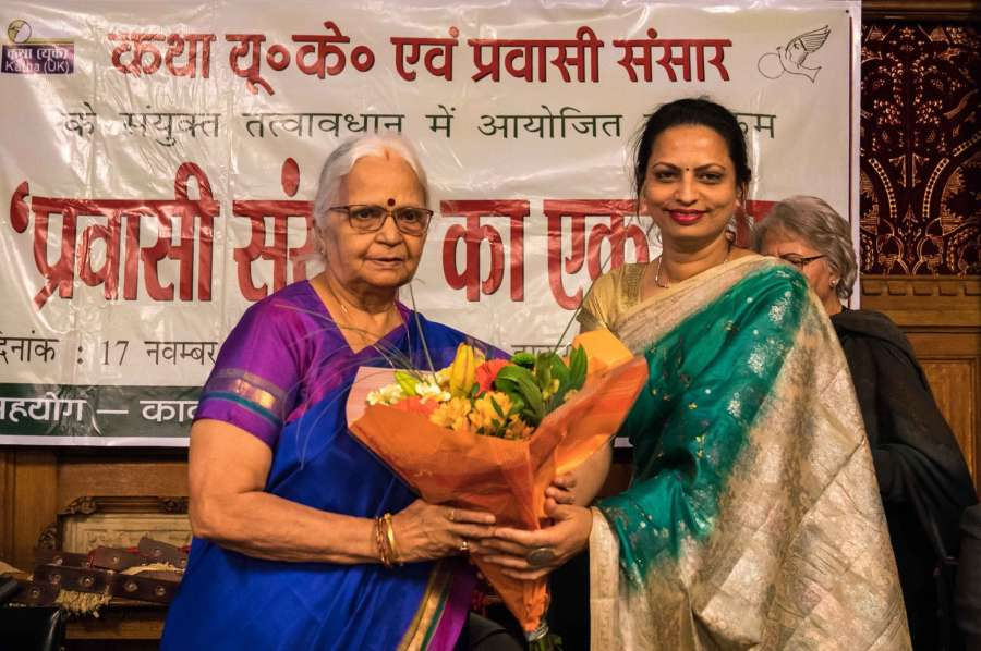 Hindi and its popularity was reflected on a three day joint celebrations by Katha- UK and Pravasi Sansar magazine