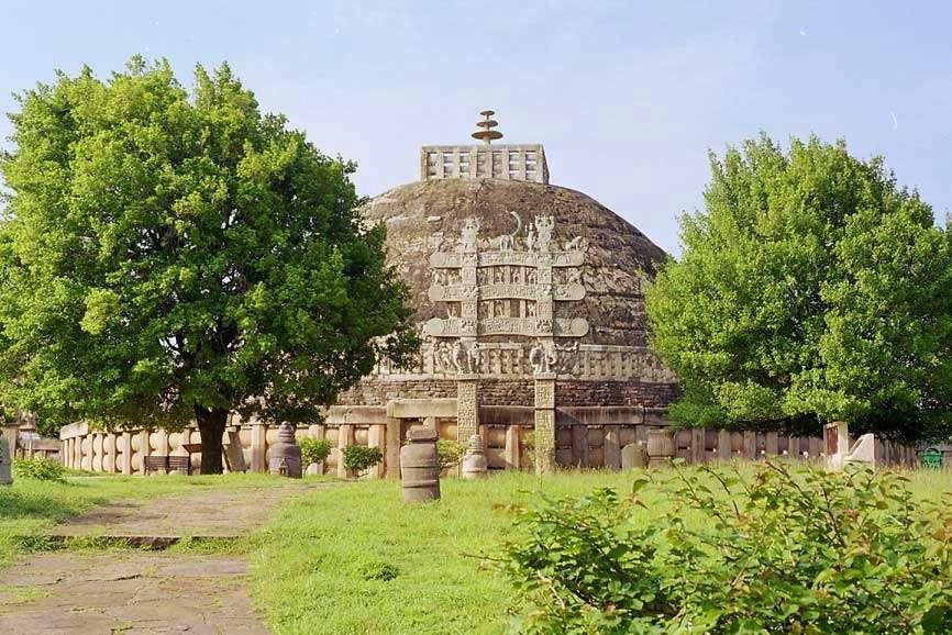 Stupa at Sanchi