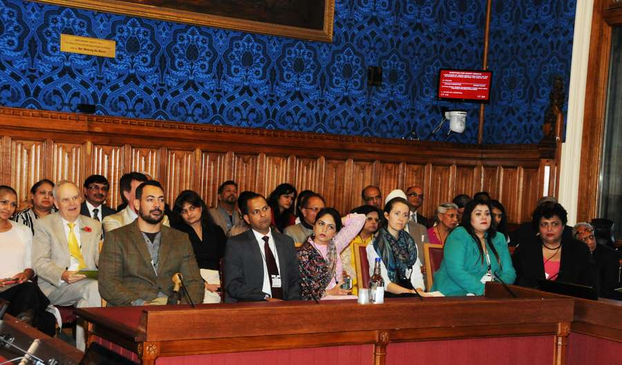 Audience at the Ayurveda Day event at House of Lords