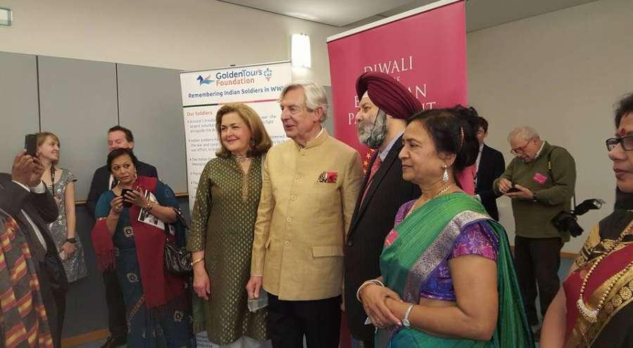 Diwali celebrations at European Parliament