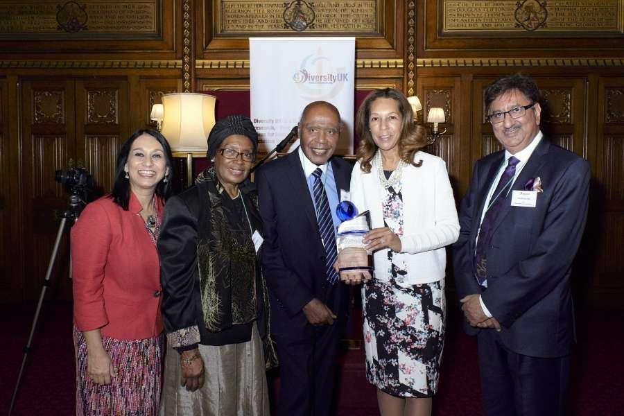 Paul Stephenson receives the Llifetime Achievement Award