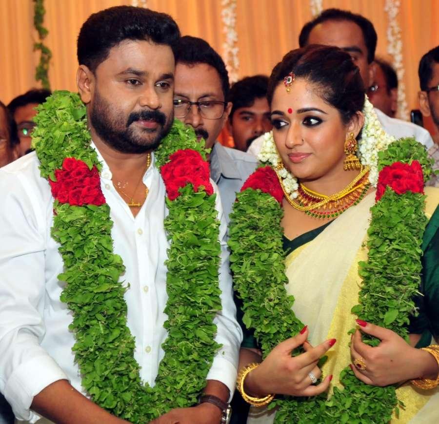 Dileep and Kavya Madhavan
