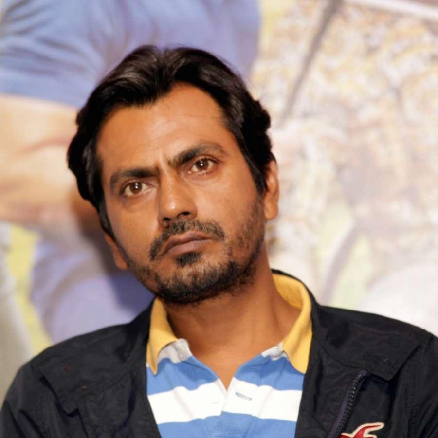 "New Delhi: Actor Nawazuddin Siddiqui at Press Conference Of Upcoming Movie ""Freaky Ali"" ,in Gurgaon,on 27th Aug 2016. (Amlan Paliwal/IANS)"
