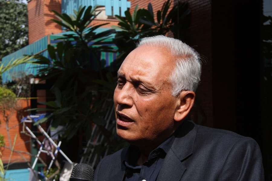(A File Photo) Former IAF chief S.P. Tyagi who is facing charges of being a beneficiary in $770 million AgustaWestland scam and has a FIR registered by Central Bureau of Investigation on his name. India has terminated the Rs. 3,600 crore deal for VIP choppers with AgustaWestland after bribery allegations tainted the deal. (Photo: IANS)