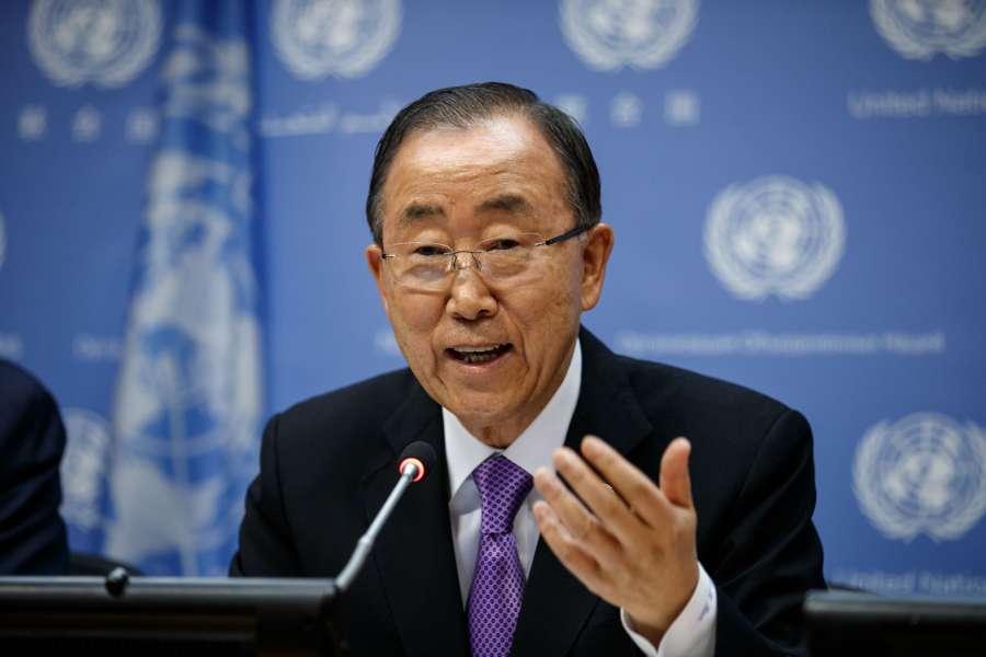 United Nations Secretary-General Ban Ki-moon. (File Photo: Xinhua/UN Photo/Rick Bajornas/IANS)