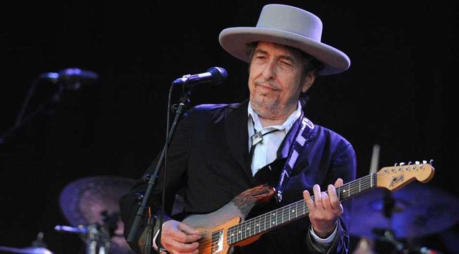 Veteran singer-song-writer Bob Dylan