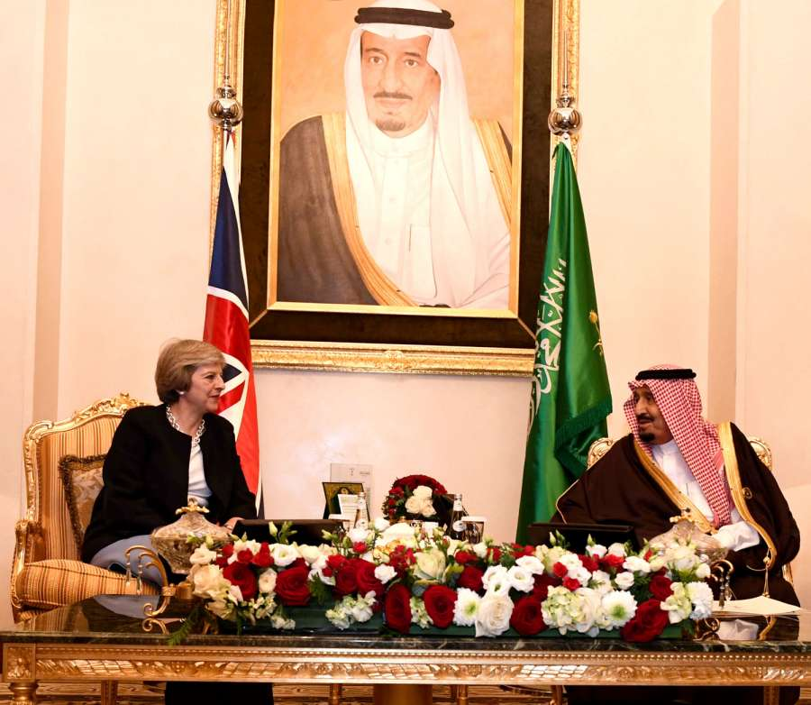 Theresa May has visited Bahrain for the GCC Summit 2016