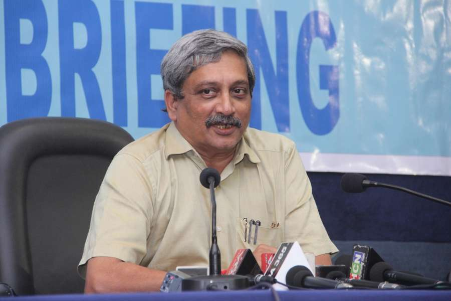 Union Defence Minister Manohar Parrikar. (File Photo: IANS)