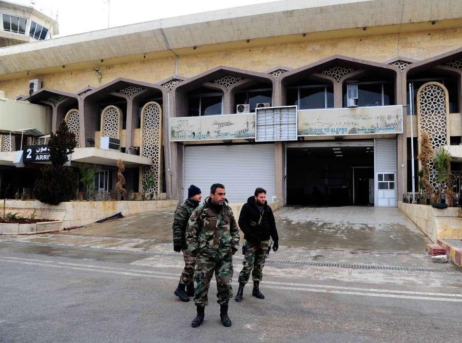 SYRIA-ALEPPO-INTERNATIONAL AIRPORT-RETURN TO SERVICE-SOON