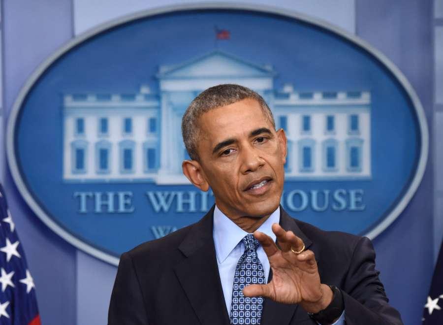 U.S.-WASHINGTON D.C.-BARACK OBAMA-FINAL PRESS CONFERENCE by .