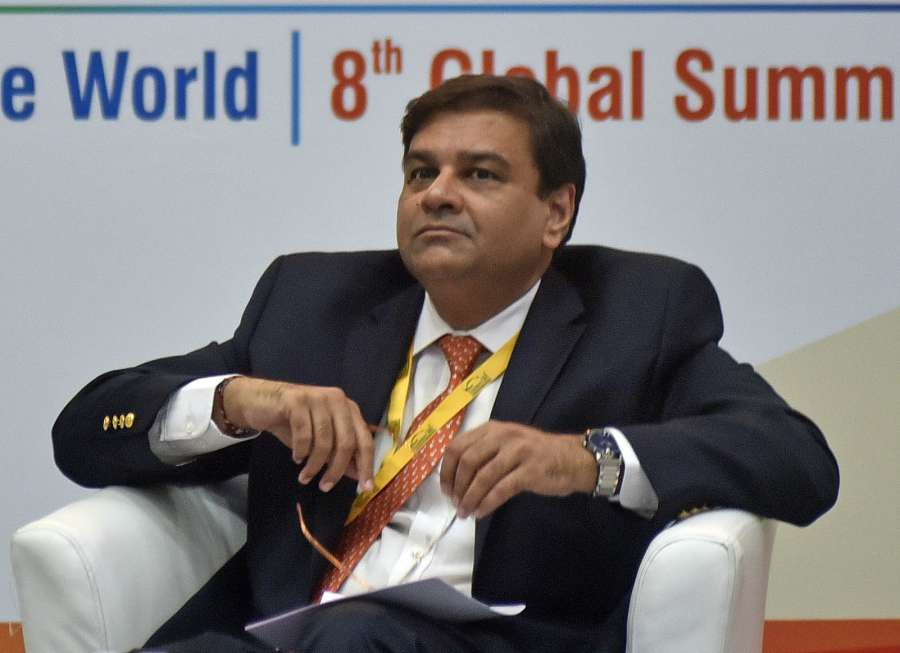 Gandhi Nagar: Reserve Bank of India (RBI) Governor Urjit Patel during a Vibrant Gujarat Investor Summit 2017 in Gandhi Nagar on Jan 11, 2017. (Photo: IANS) by .
