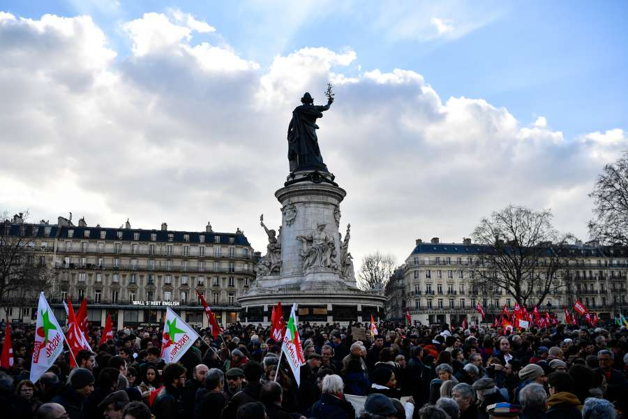 FRANCE-PARIS-DEMONSTRATION-POLICE-VIOLENCE by .