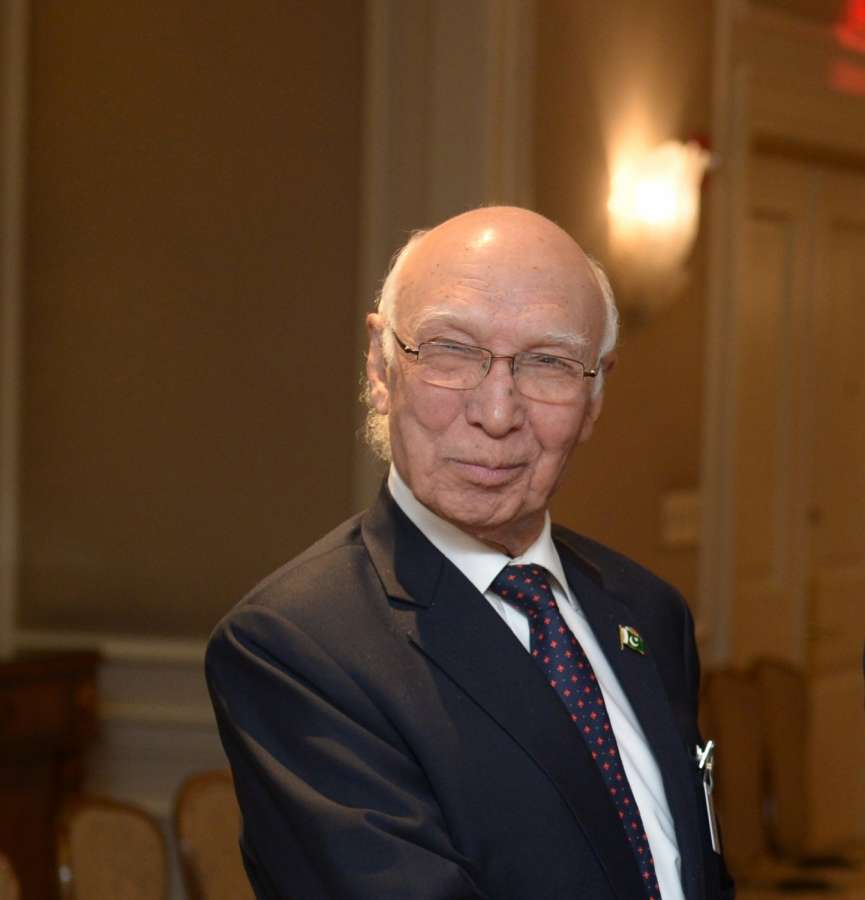 Pakistan Prime Minister Adviser on National Security and Foreign Affairs Sartaj Aziz. (File Photo: Xinhua/IANS) by .
