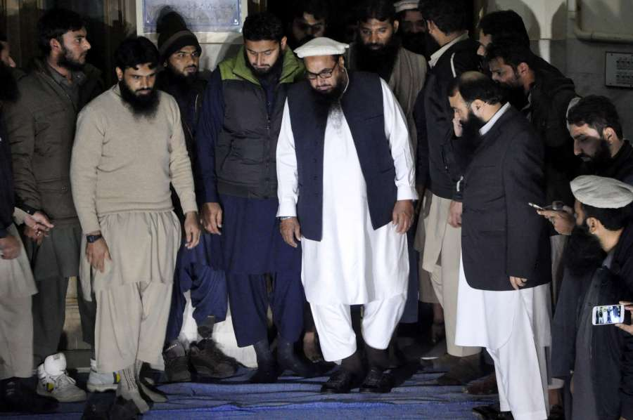 PAKISTAN-LAHORE-MILITANT-LEADER-ARREST by .