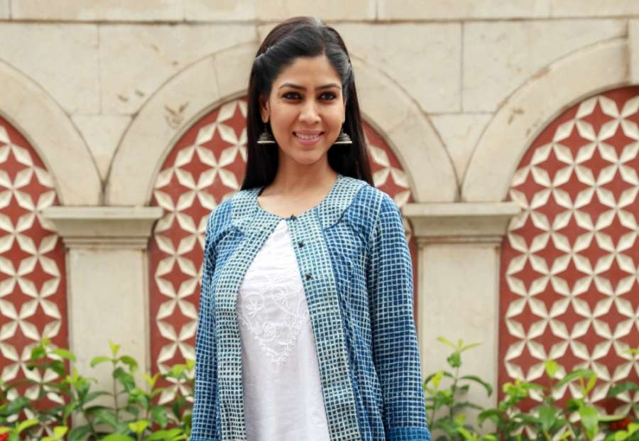 """New Delhi: Actress Sakshi Tanwar during the press meet to promote the second season of serial """"24"""", in New Delhi on July 8, 2016. (Photo: Amlan Paliwal/IANS) by ."""