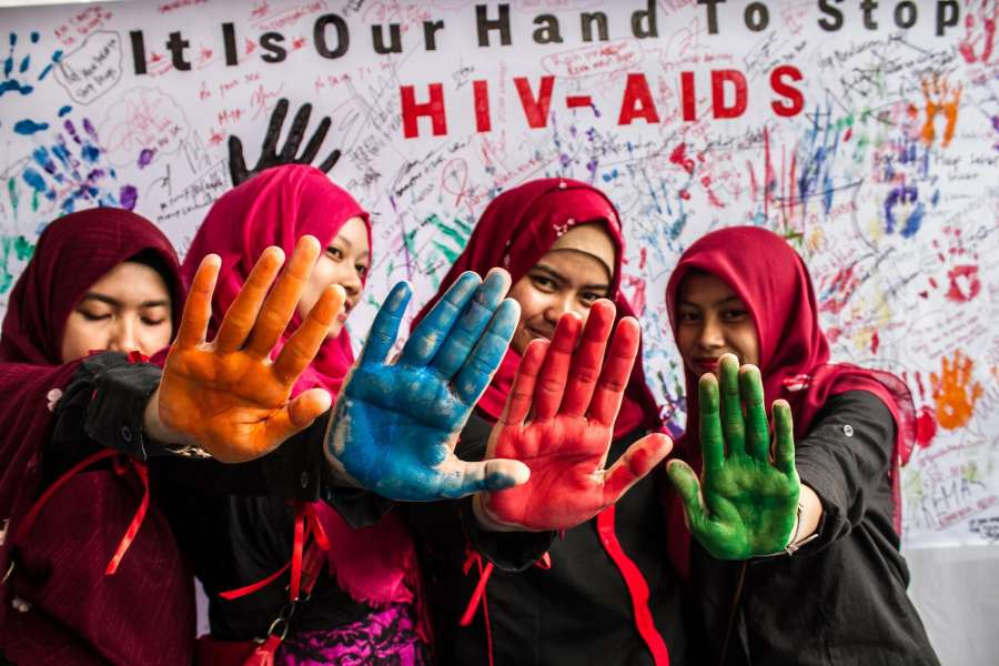 INDONESIA-MEDAN-WORLD AIDS DAY by .