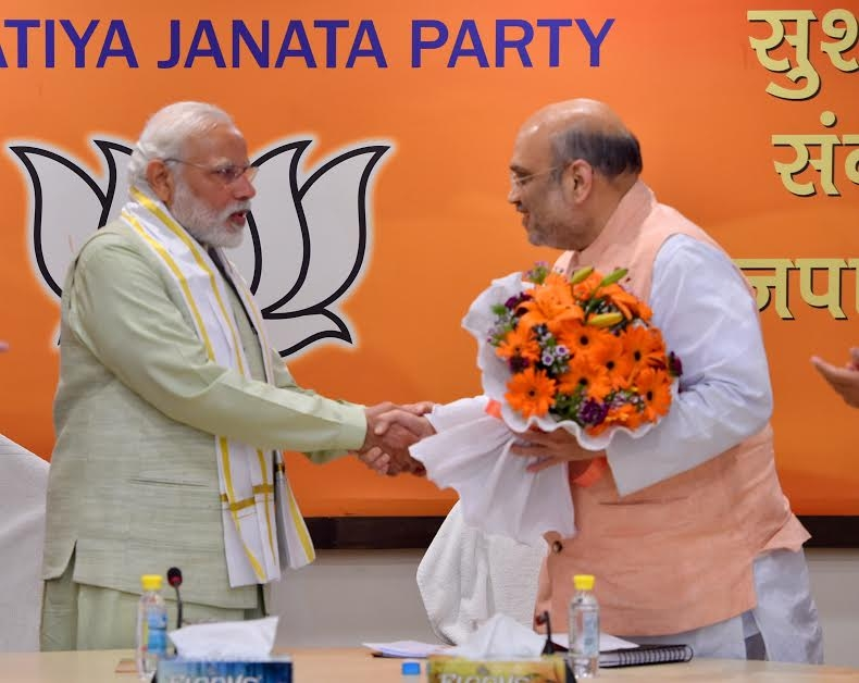 BJP chief Amit Shah. (File Photo: IANS) by .