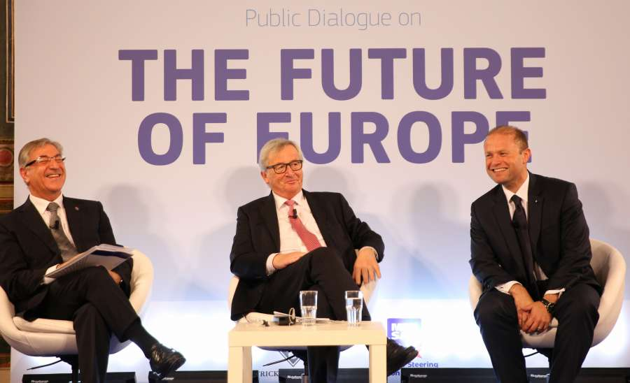 MALTA-VALLETTA-DIALOGUE-FUTURE OF EUROPE by .