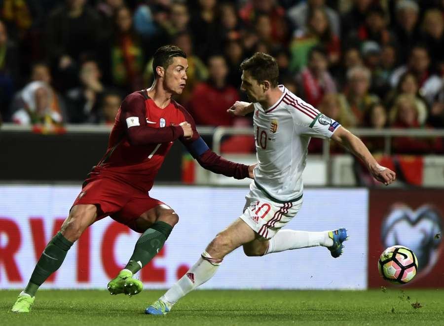 (SP)PORTUGAL-LISBON-SOCCER-FIFA WORLD CUP-QUALIFIERS-POR VS HUN by .
