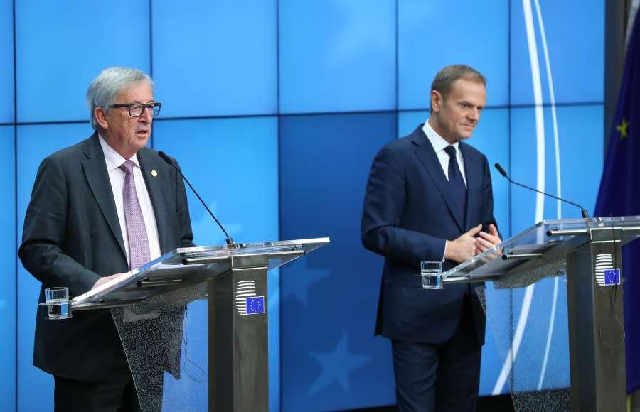 BELGIUM-BRUSSELS-EU SPRING SUMMIT-CLOSE by .