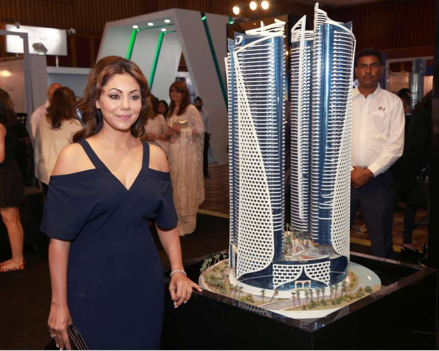 New Delhi: Film producer and an entrepreneur Gauri Khan at IREX (Gauri KhanGauri KhanGauri KhanGauri Khan) 2016 in New Delhi on Oct 7, 2016. (Photo: Amlan Paliwal/IANS) by .