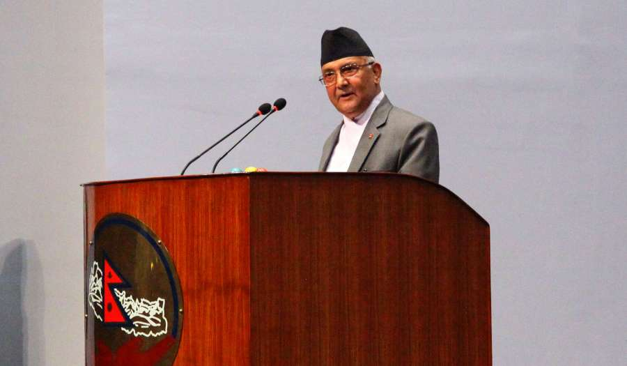 NEPAL-KATHMANDU-PM-RESIGNATION by .