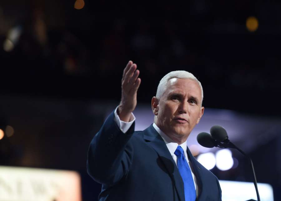US-CLEVELAND-REPUBLICAN NATIONAL CONVENTION-MIKE PENCE by .