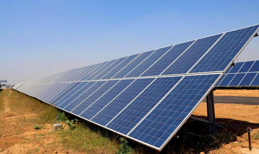 Solar power plant. (File Photo: IANS) by .