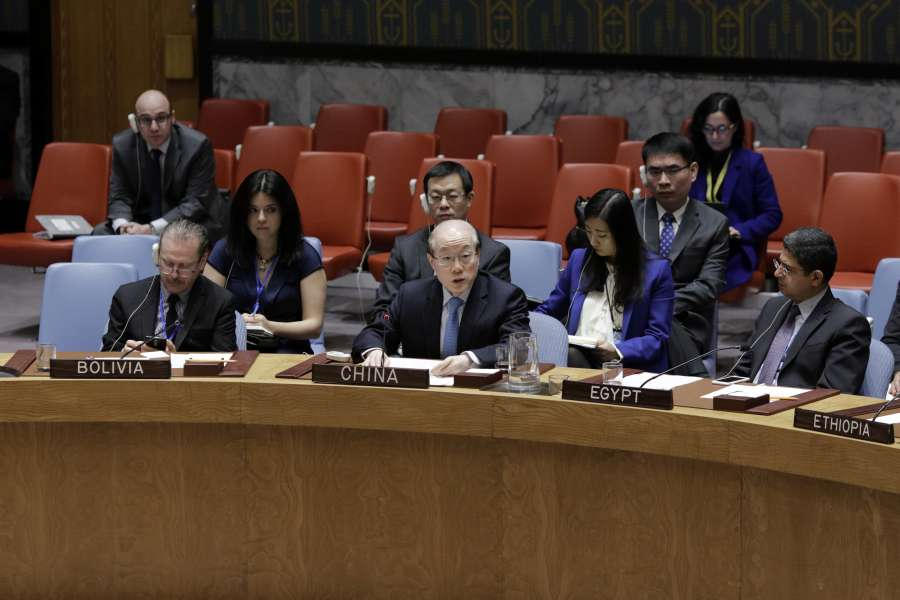 UN-SECURITY COUNCIL-CHINA-KOSOVO by .