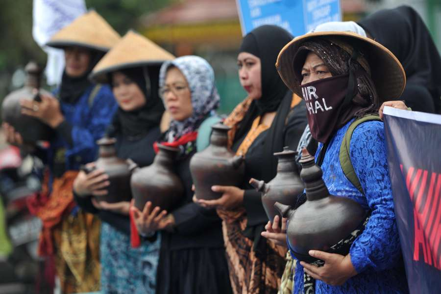 INDONESIA-JAKARTA-WORLD WATER DAY by .
