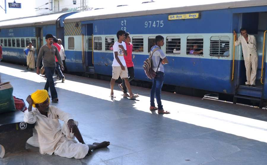 Bengaluru: Union Finance Minister Arun Jaitley has proposed to allocate Rs 131,000 crore as capital and development expenditure for the Indian railways during fiscal 2017-18. He also proposed to introduce 'Coach Mitra' facility -- a single window complaint system to maintain railway cleanliness. (Photo: IANS) by .