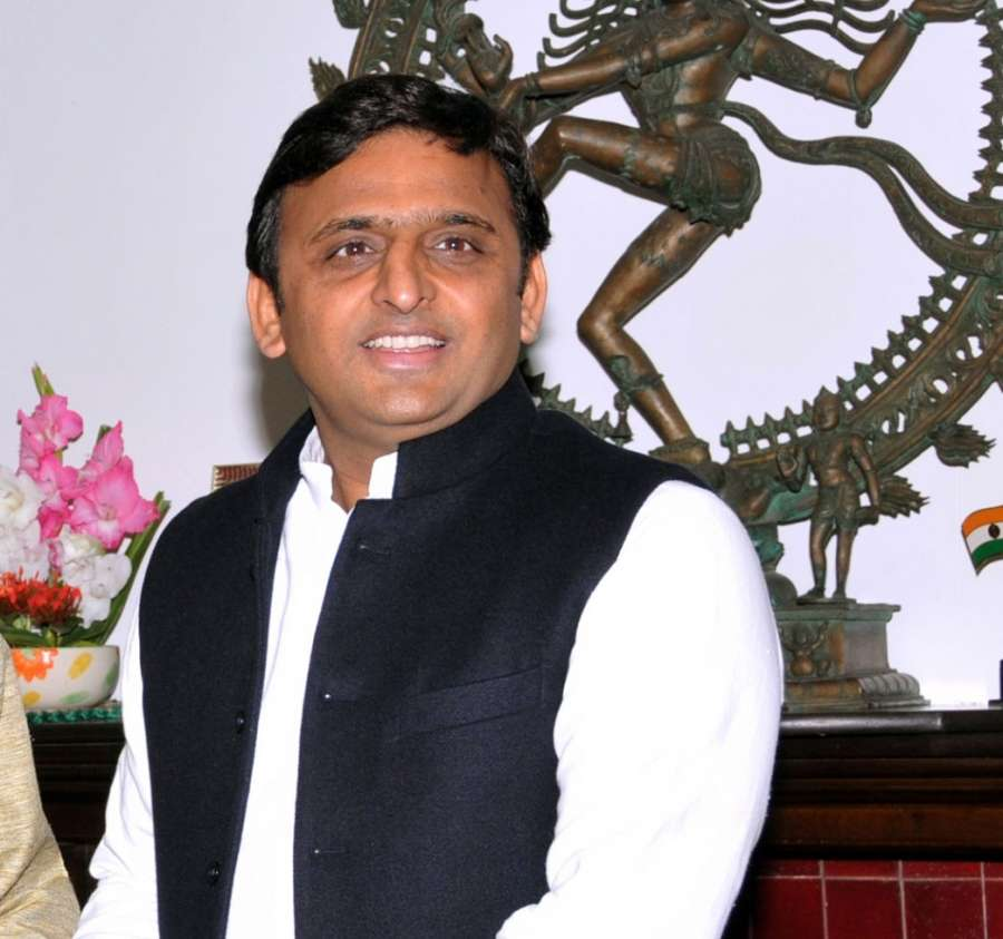 Uttar Pradesh Chief Minister Akhilesh Yadav. (File Photo: IANS) by .