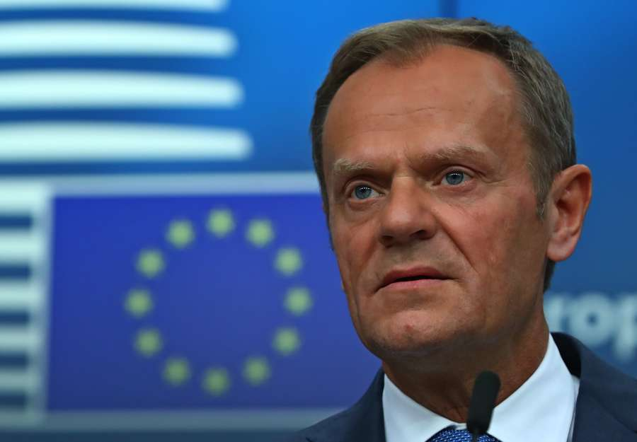 BELGIUM-BRUSSELS-EU-LEADERS-OFFICIAL MEETING-BREXIT by .