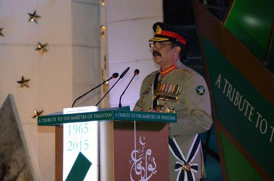 PAKISTAN-RAWALPIND-ARMY CHIEF-SPEECH by .