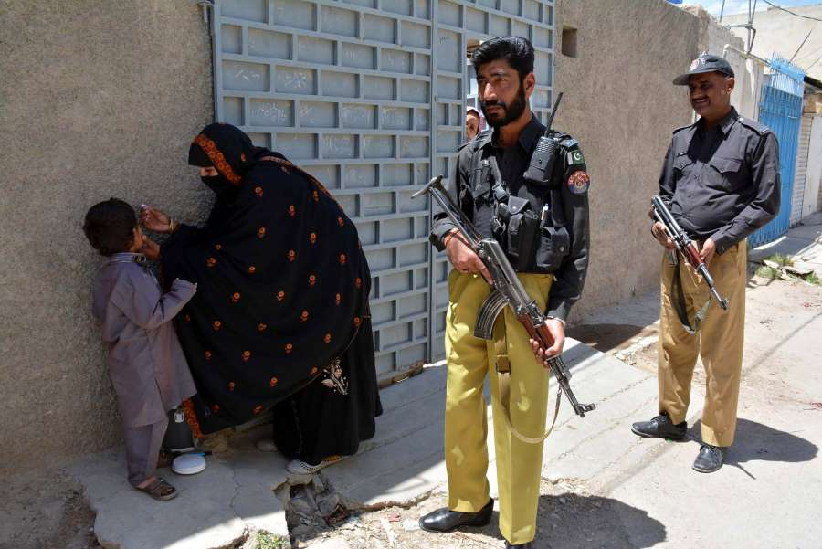 (WORLD SECTION) PAKISTAN-QUETTA-POLIO-CAMPAIGN by .