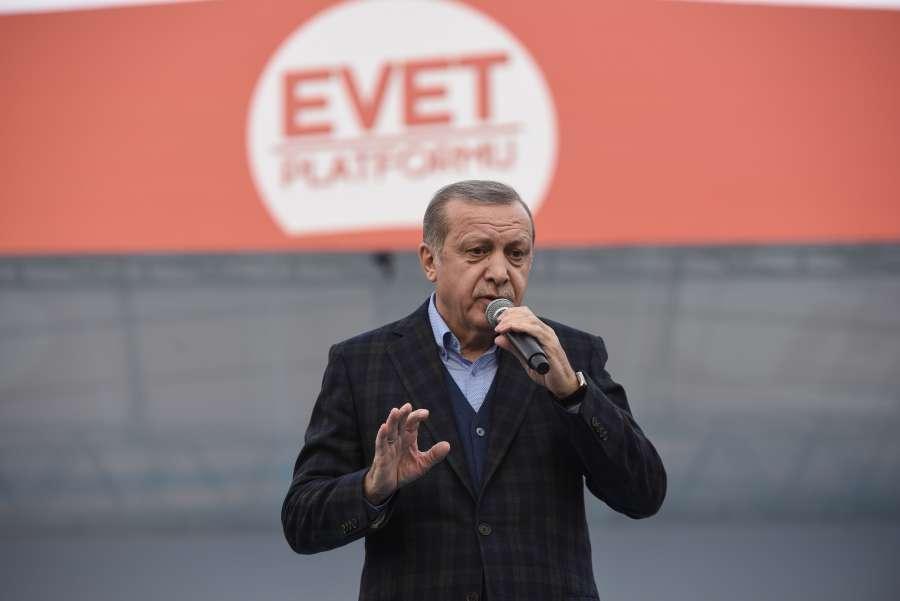 TURKEY-ISTANBUL-REFERENDUM-RALLY by .