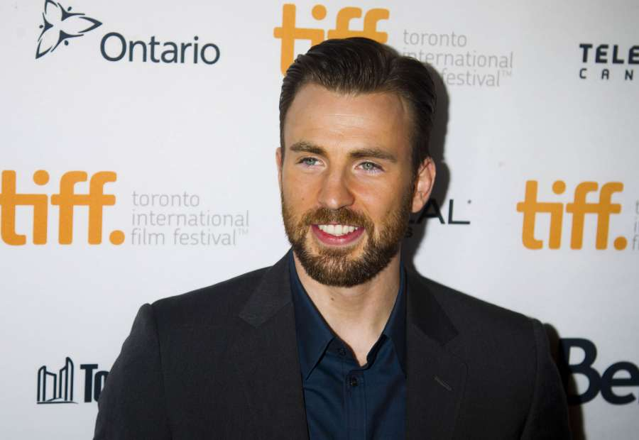 Director and actor Chris Evans