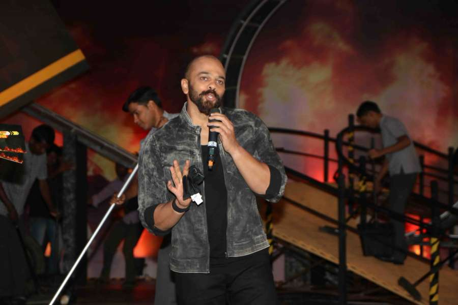 Mumbai: Filmmaker Rohit Shetty during the launch of Colors TV show Khatron Ke Khiladi Season 8 in Mumbai on May 9, 2017. (Photo: IANS) by .