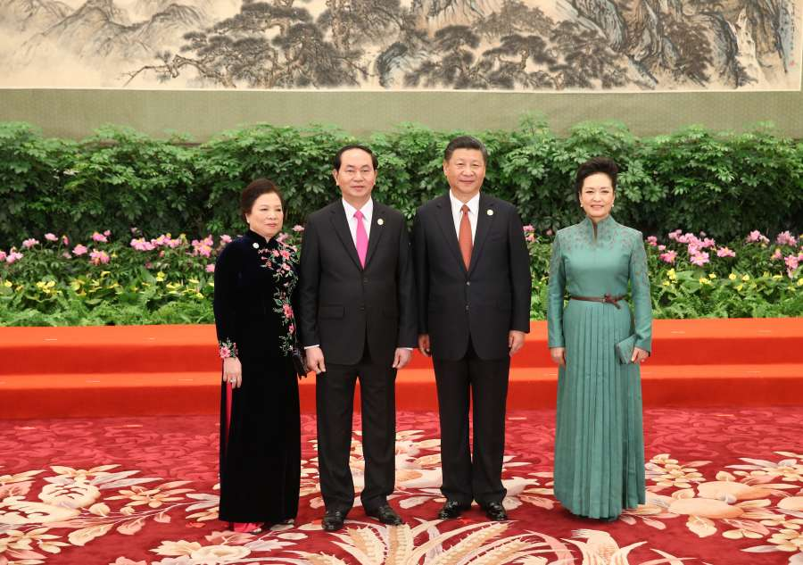 (BRF)CHINA-BEIJING-BELT AND ROAD FORUM-XI JINPING-WELCOME BANQUET (CN) by .