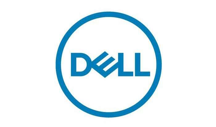 Dell logo. by .