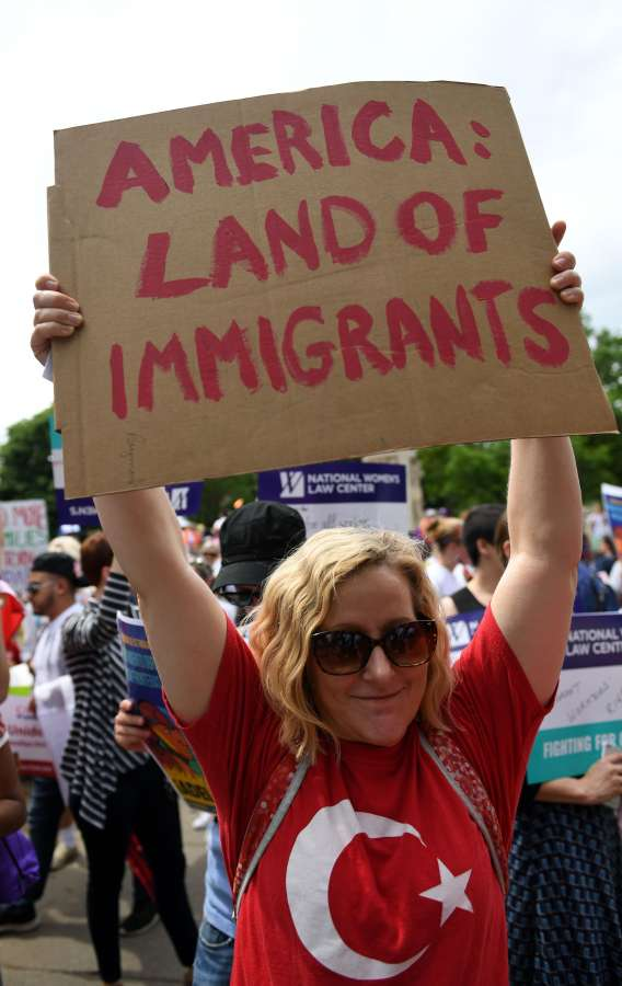 U.S.-WASHINGTON D.C.-IMMIGRANTS AND WORKERS MARCH by .
