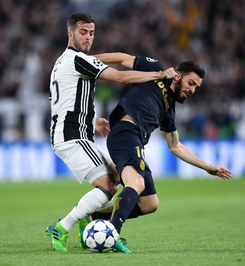 (SP)ITALY-TURIN-SOCCER-UCL-JUVENTUS VS MONACO by .