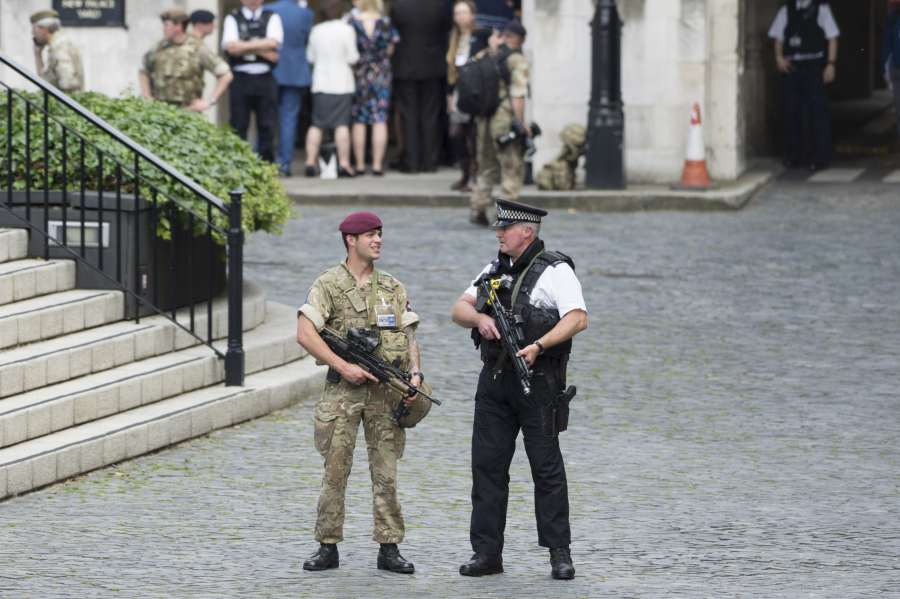 BRITAIN-LONDON-TERROR THREAT-HIGHEST LEVEL by .