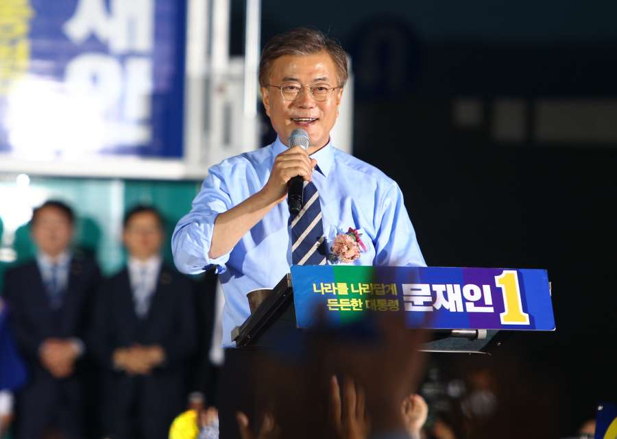 SOUTH KOREA-SEOUL-PRESIDENTIAL ELECTIONS-CAMPAIGN by .