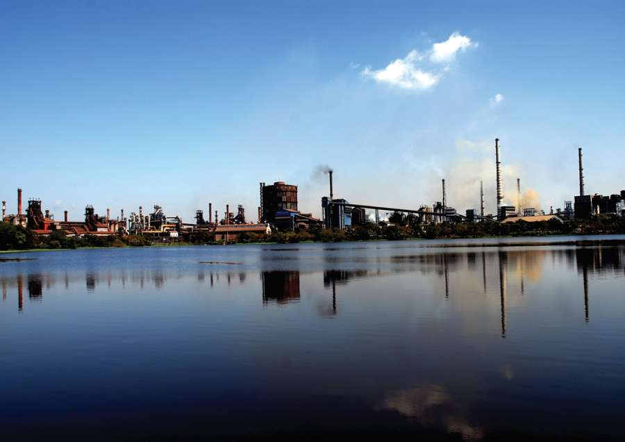 A view of Tata Steel's Jamshedpur Works.(File Photo: IANS/TATA) by .