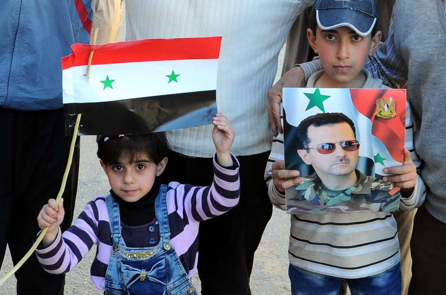 SYRIA-DAMASCUS-WESTERN COUNTRYSIDE-SIX TOWNS-FREE OF REBELS by .