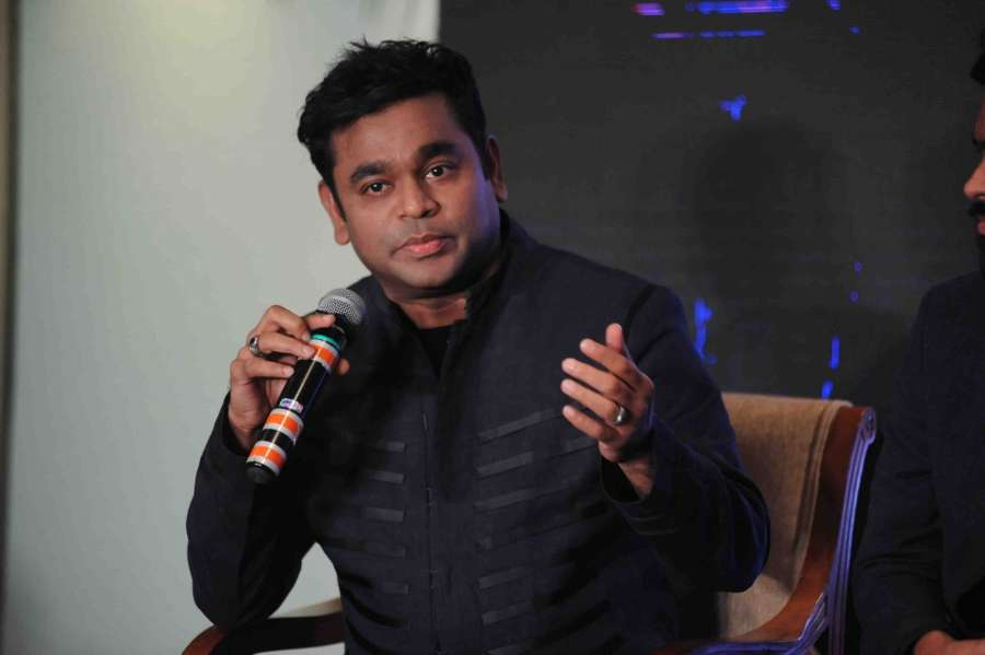 Mumbai: Music composer A R Rahman during the press conference of Premier Futsal, in Mumbai, on July 07, 2016. (Photo: IANS) by .