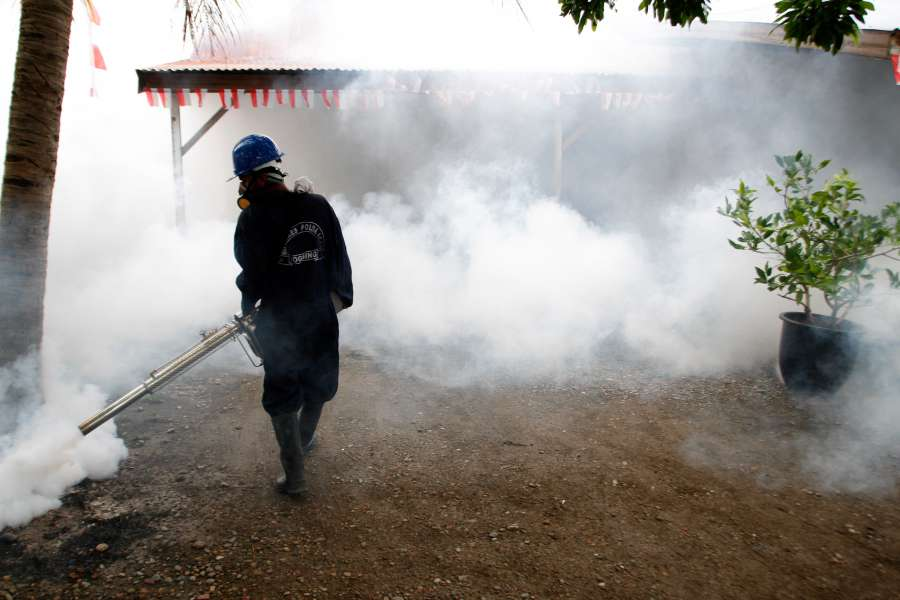 (WORLD SECTION) INDONESIA-ACEH-FOGGING-PREVENT-ZIKA VIRUS-SPREAD by .